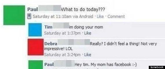 your mom joke