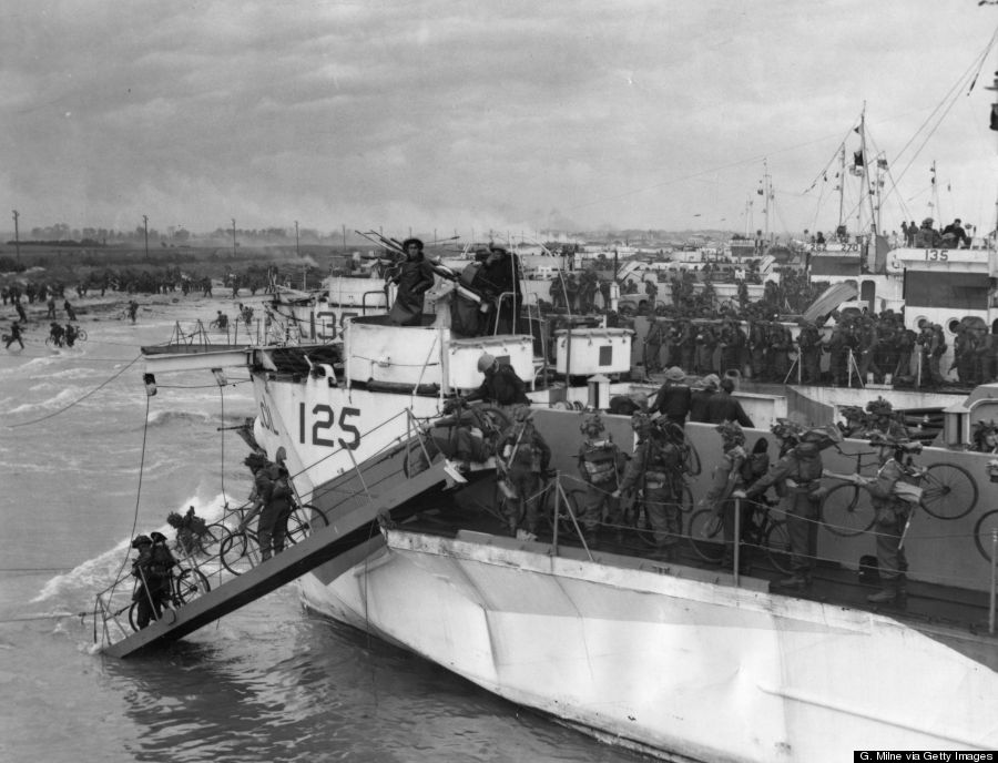 D Day Invasion Boats 20 Powerful D-Day Phot...