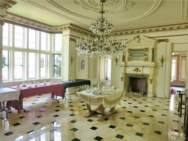 This historic mansion will challenge your vision of detroit photos