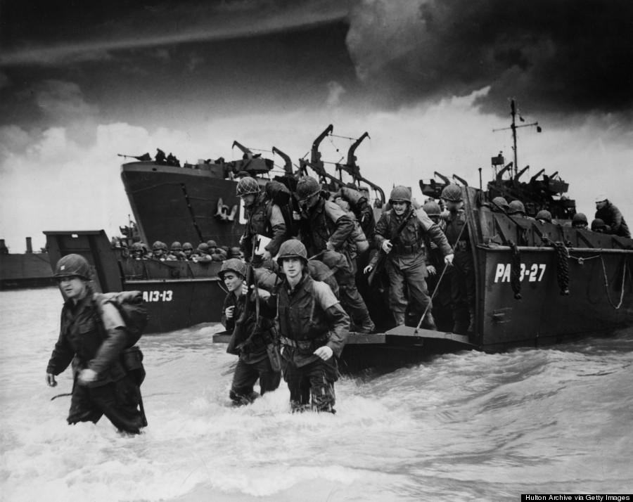 reinforcements disembarking