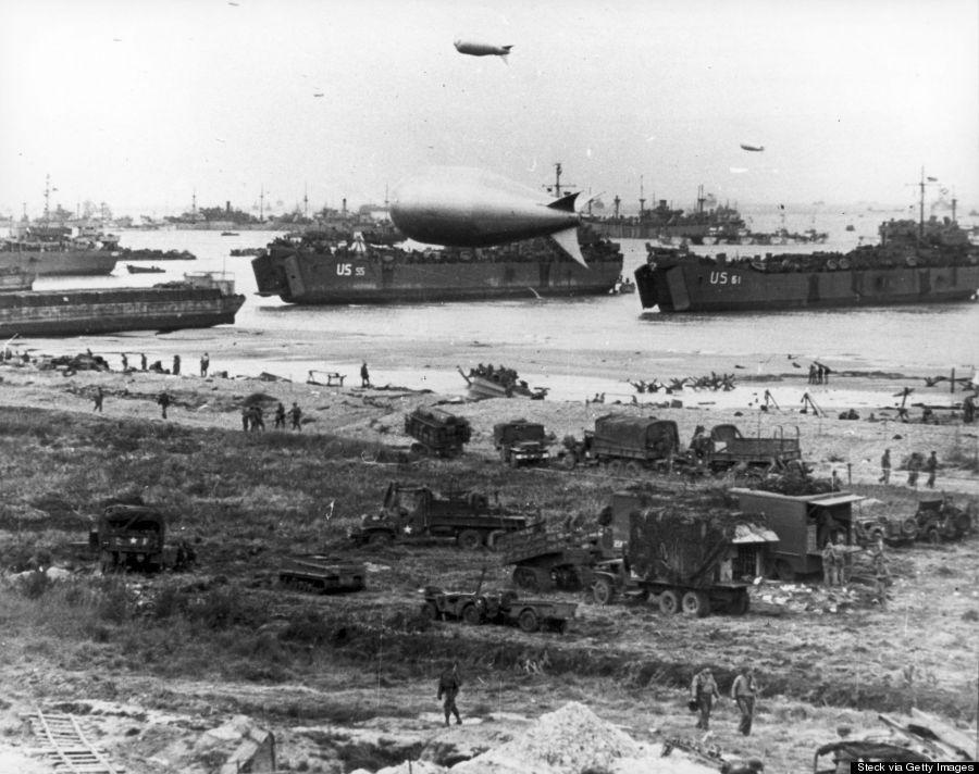 us troops landing in northern france on dday