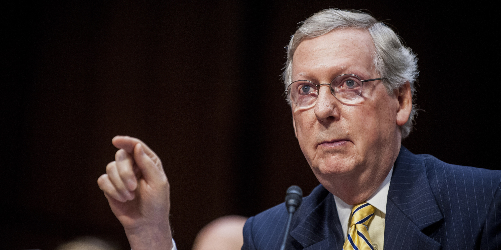 Mitch McConnell Introduces Bill To Block New EPA Rules   HuffPost