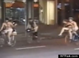 World Naked Bike Ride Arouses Controversy