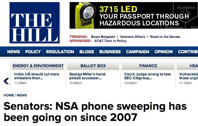 nsa since 2007