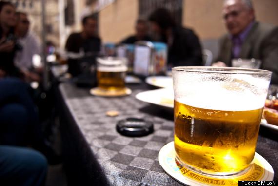 cana cerveza spain