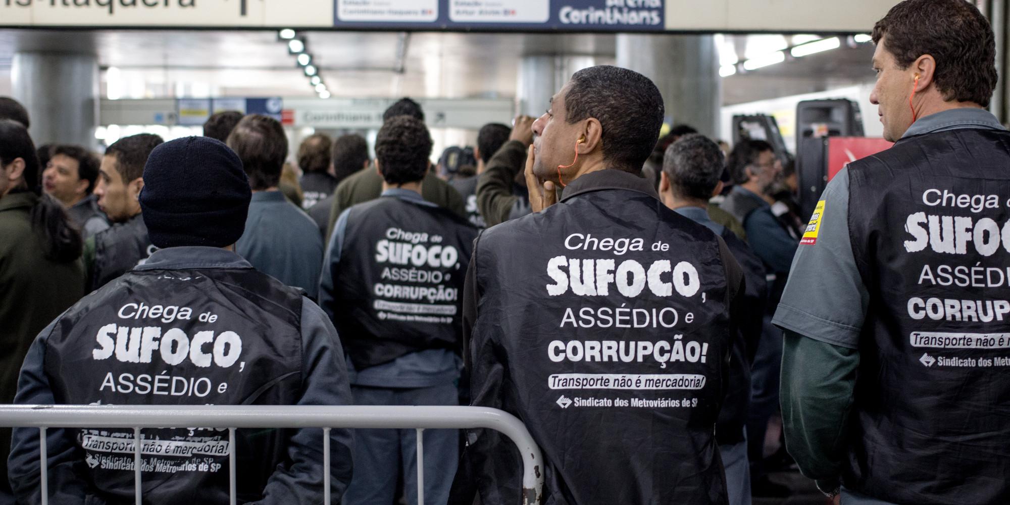 Resultado de imagem para greve metro