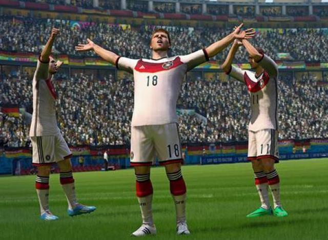 Coupe du monde 2014 selon fifa 14 de ea sports l 39 allemagne va remporter le tournoi et la - Ballon de la coupe du monde 2014 ...