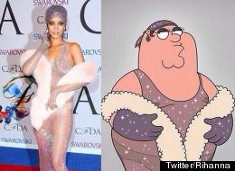 Rihanna Vs Peter Griffin: Who Wore It Best?