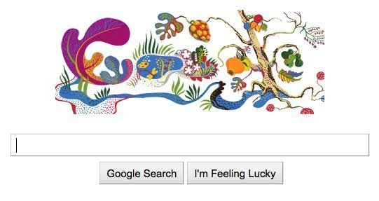 Check out the Josef Frank-inspired Google logo below, then see more of
