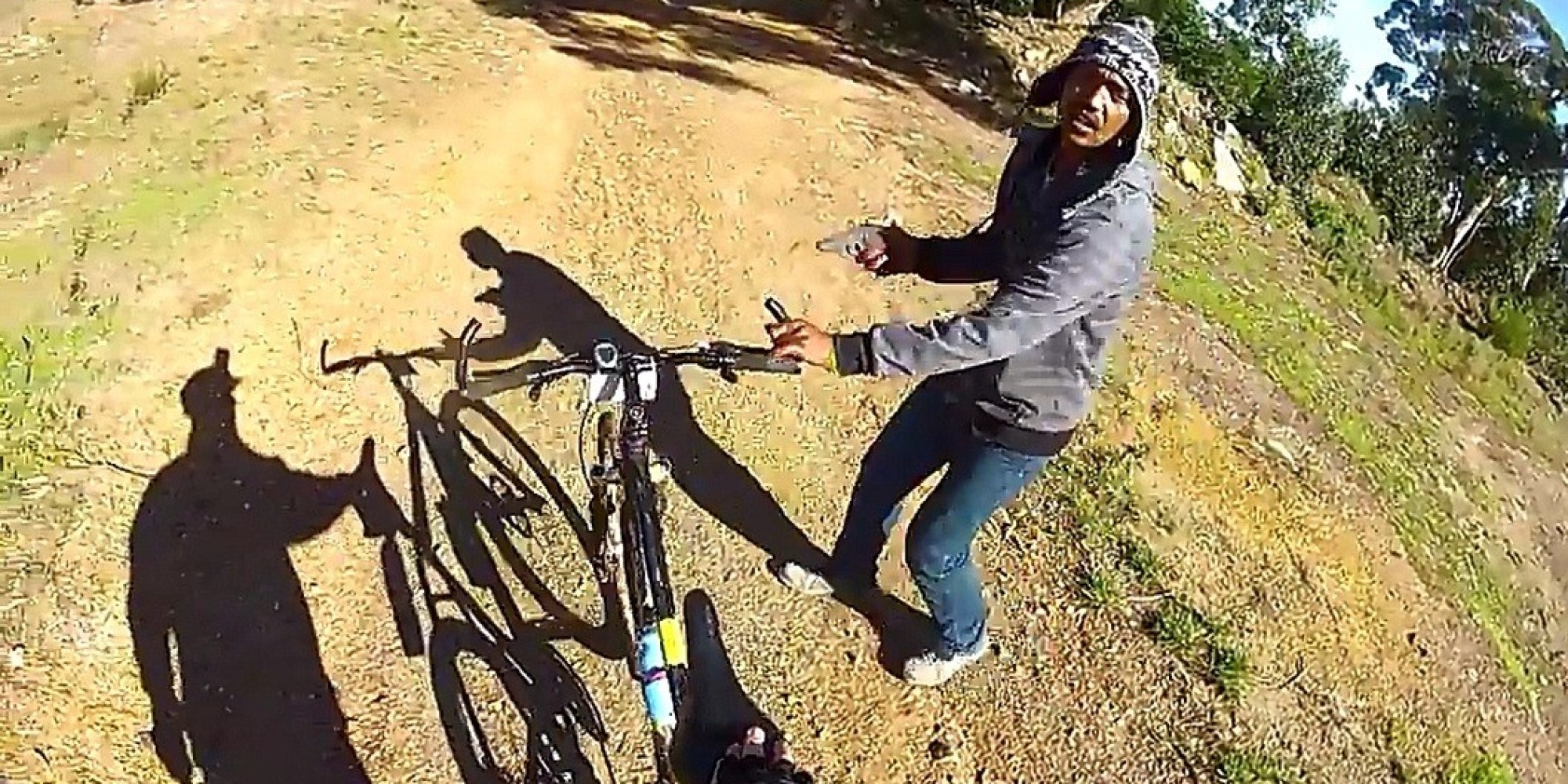 12 bicyclist s gopro captures frightening armed robbery watch gopro ...