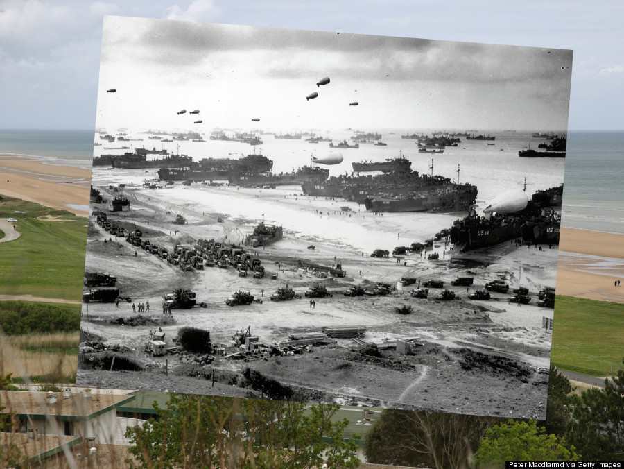 These Then-And-Now Photos Will Make You Look At D-Day