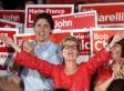 Trudeau Mocks Hudak's Math, Says Conservatives Don't Like Teachers