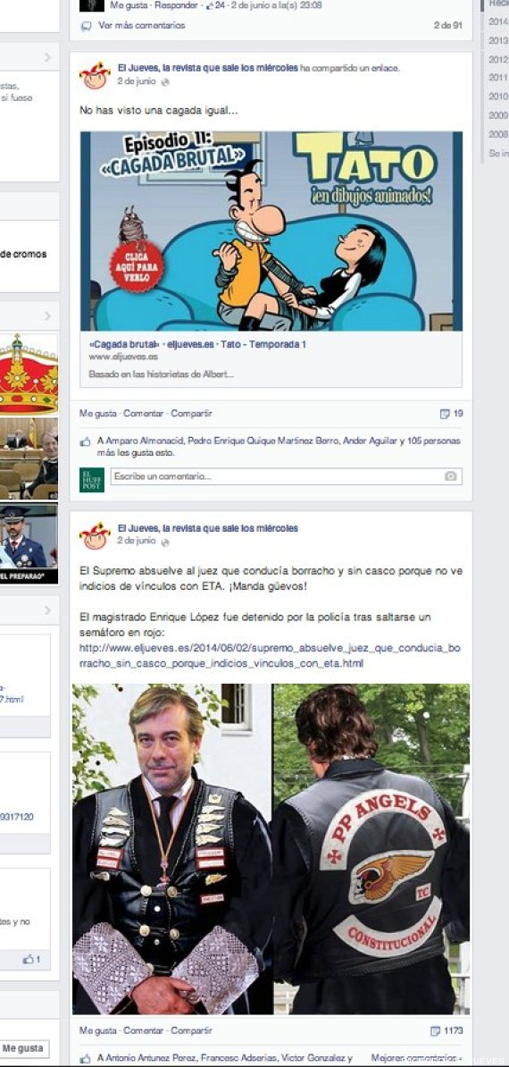 jueves facebook