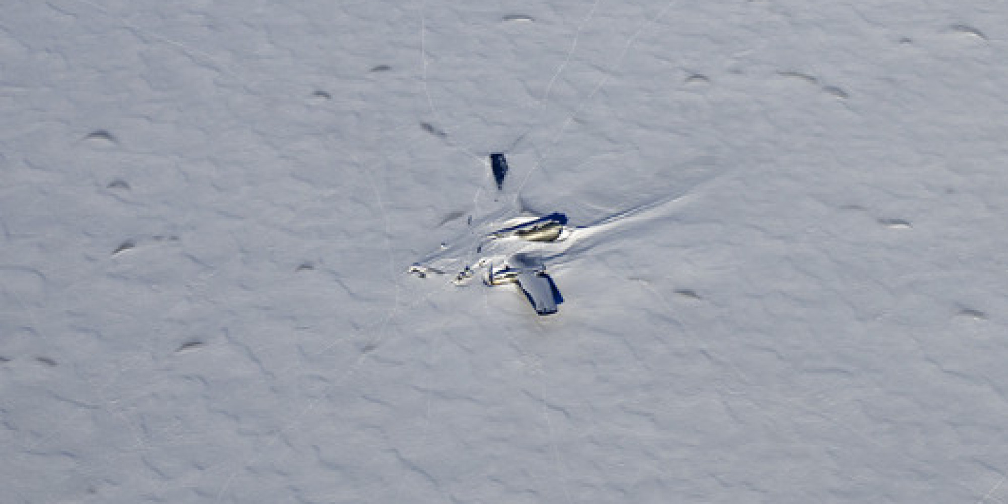 Wreckage Of Cold War Spy Plane Spotted On Remote Ice Sheet   HuffPost