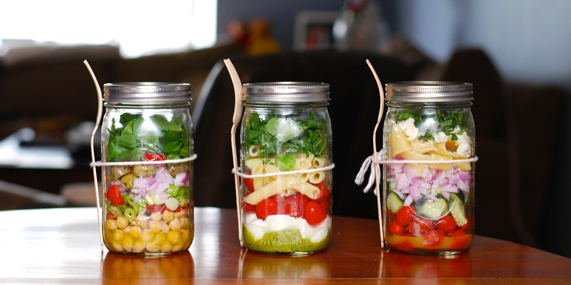 Make Mason Jar Salad