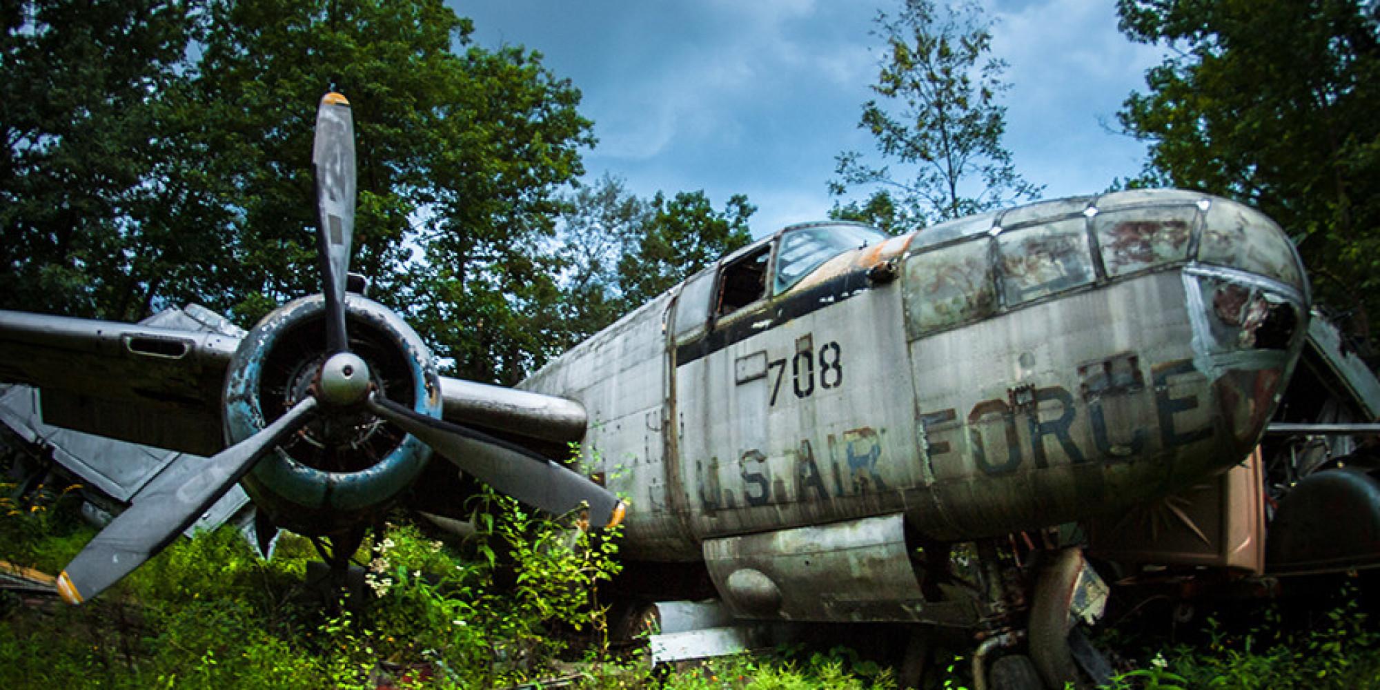 This Secret Warplane Graveyard Has A Great American Story Behind It ...