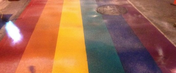 rainbow crosswalks toronto