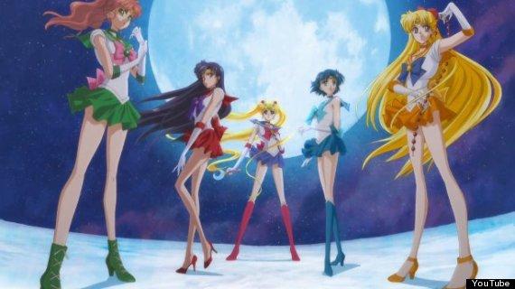 sailor moon crystal group
