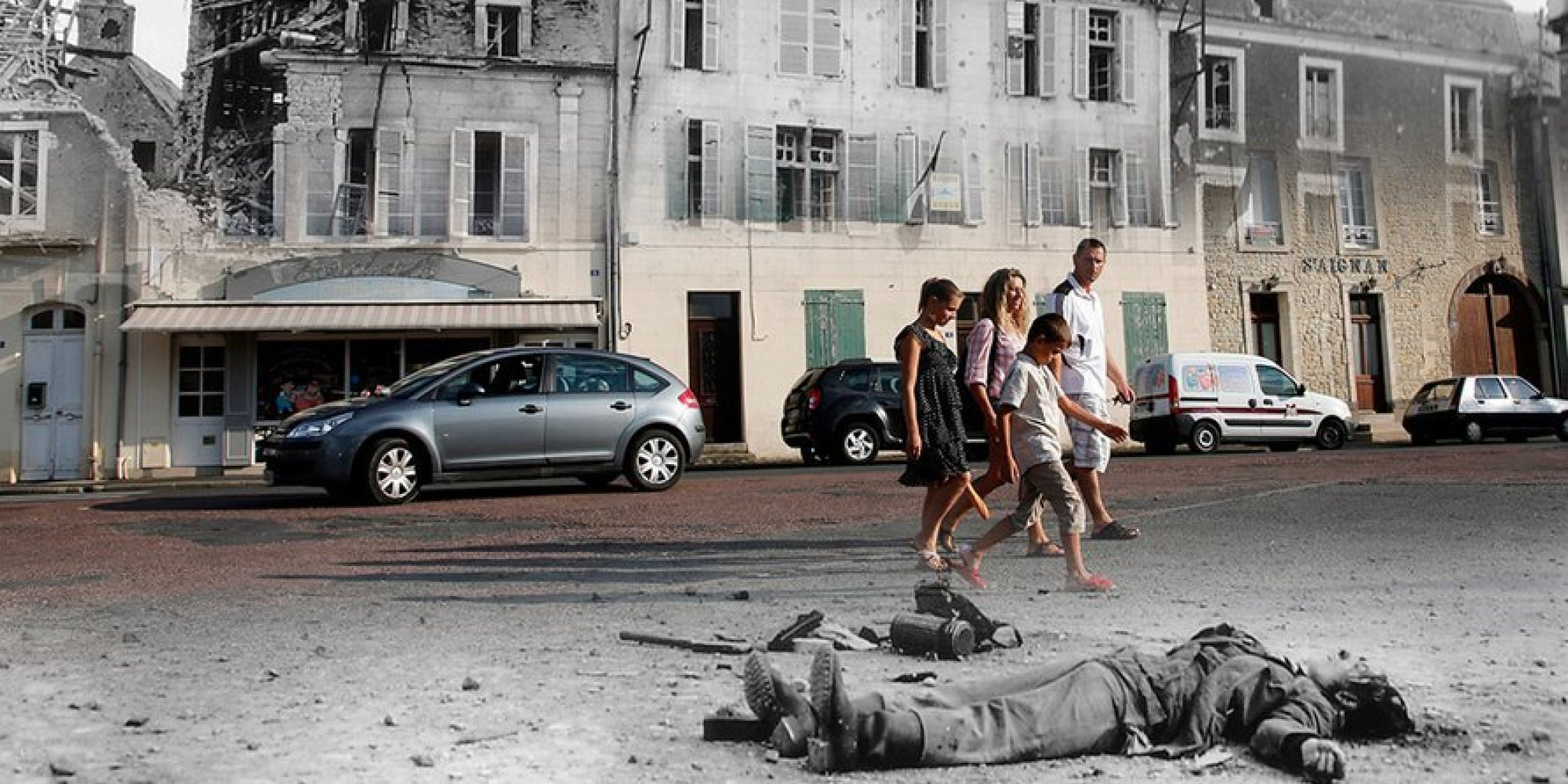 D-Day Landing Sites Then And Now: 11 Striking Images That ...