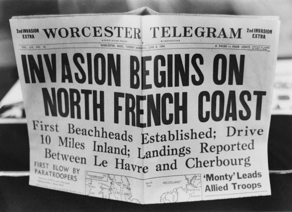 dday newspapers