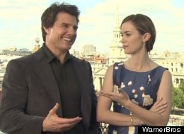 Tom Cruise: 'Blunt's Going Off Again'