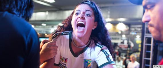 women arm wrestling