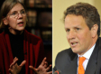 Tim Geithner Opposes Nominating Elizabeth Warren To Lead New Consumer Agency
