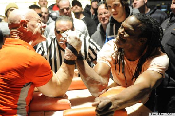Yes, Professional Arm Wrestling Is A Thing -- And It's ...