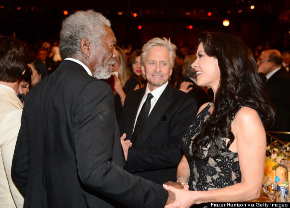 catherine zetajones morgan freeman