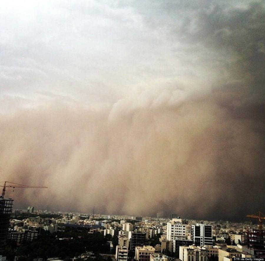 tehran sandstorm