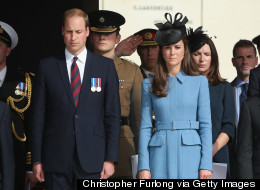 Will And Kate Speak With Veterans At D-Day Event