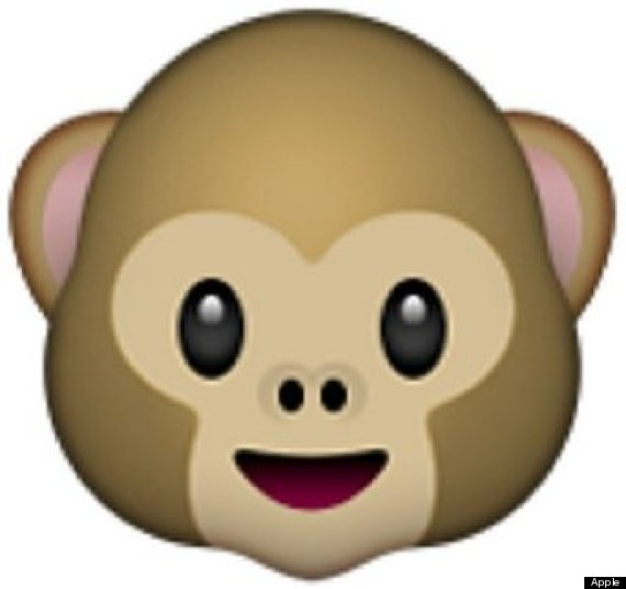 regular monkey emoji