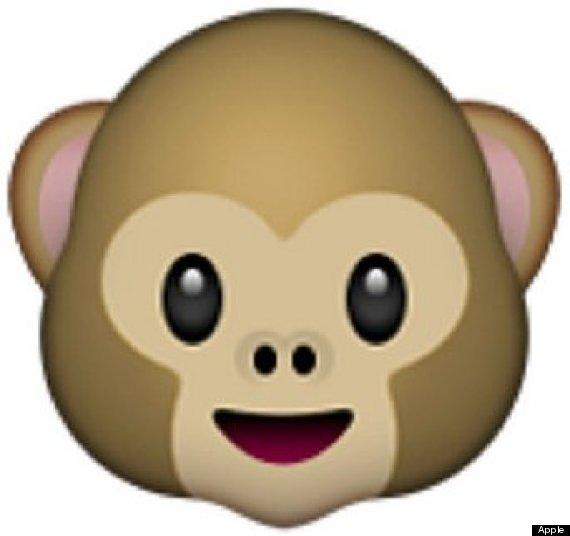 regular monkey emoji