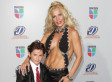 Barely Dressed Niurka Marcos Brings Her Son To Univision Awards (PHOTOS)