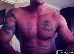 Guess Which Former Pop Star Has Been Hitting The Gym (And Tattoo Parlour)?