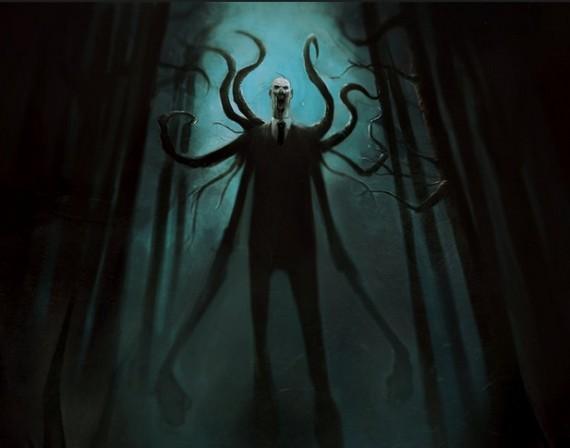 slender man - Halloween Costume Slender Man