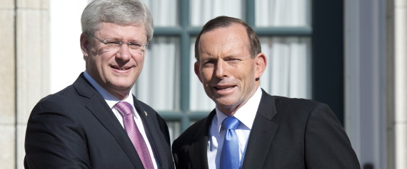 STEPHEN HARPER TONY ABBOTT
