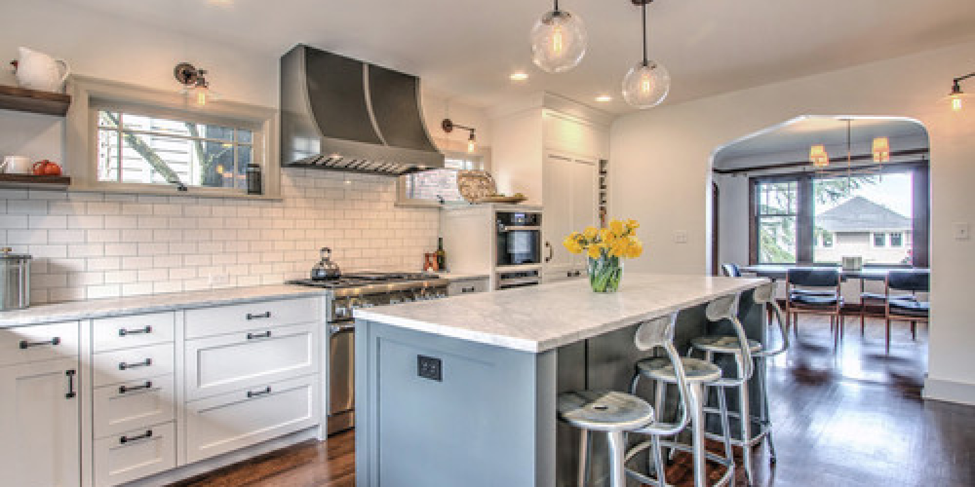 Before and after seattle kitchen gets a bright makeover - Seattle kitchen appliances ...