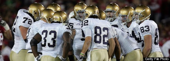 Note Montana Notre Dame Football Arrests
