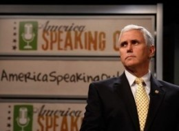 House Republican Conference Chairman Mike Pence introduces the partys new.