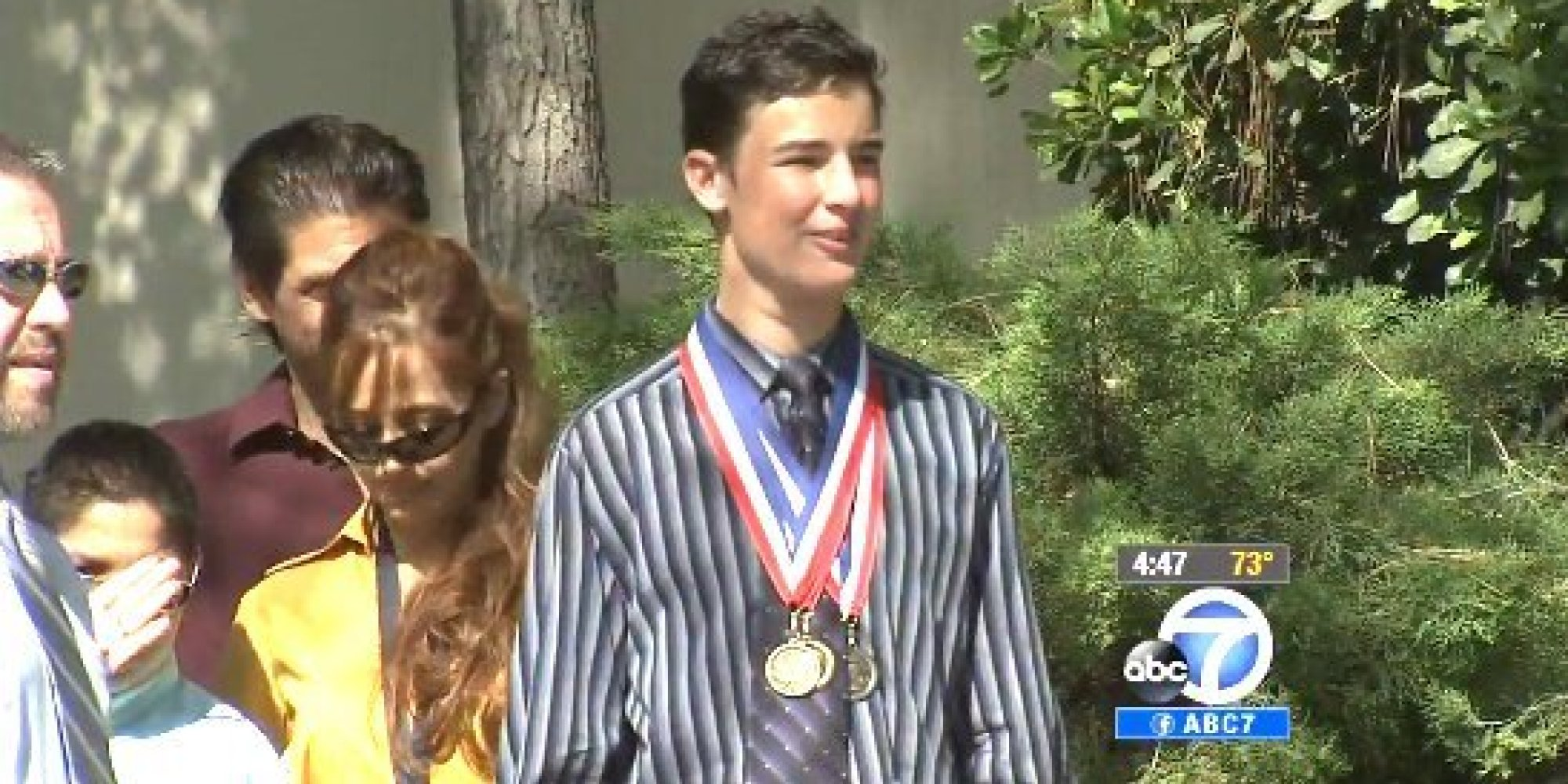 Non-Verbal Teen With Autism Says 'No One Can Place Limits' On You In Moving Graduation Speech