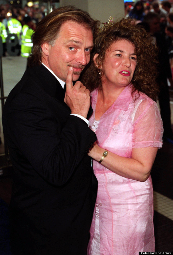 rik mayall wife barbara