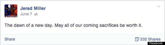 jerad miller facebook status