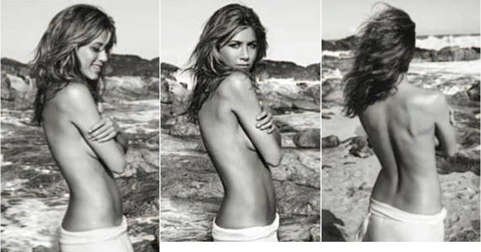 Jennifer Anistons Topless Lolavie Ads Photos  Huffpost-4309