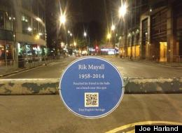Rik Mayall Gets The Best Blue Plaque Ever