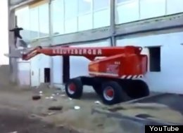 WATCH: This Is NOT How You Want Your First Day In The Job To Go...