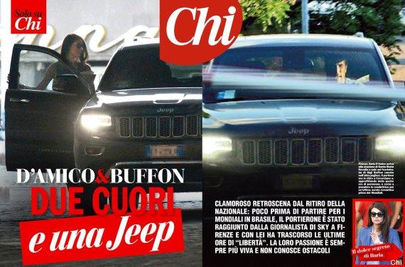 Gianluigi Buffon e Ilaria D
