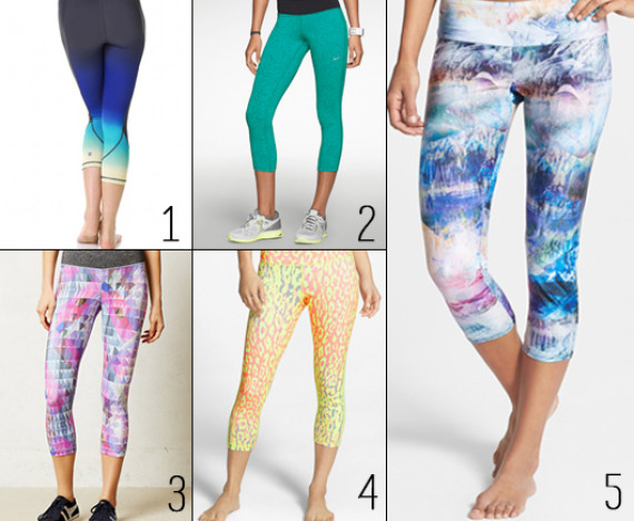 Top 5 Printed Workout Capris: Stay Active With These Bright ...