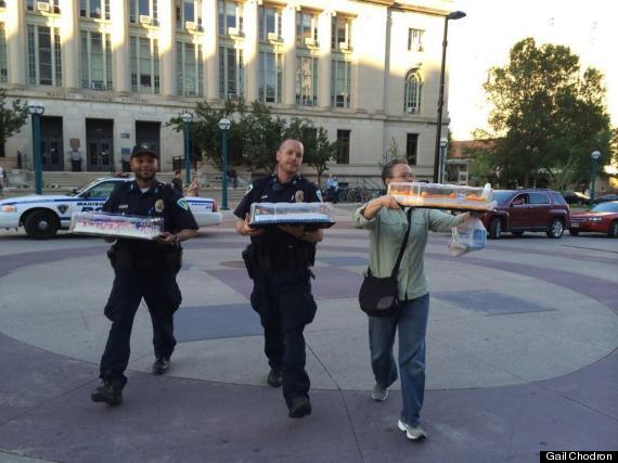cops cakes