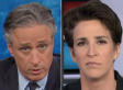 Jon Stewart Is A More Trusted News Source Than MSNBC, Study Says